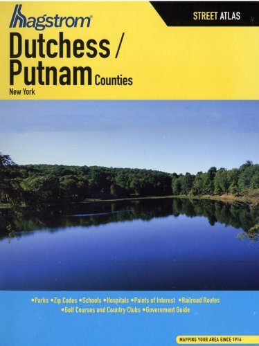 Hagstrom Dutchess Putnam Counties: New York for sale  Delivered anywhere in USA