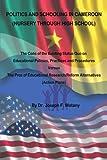 Politics and Schooling in Cameroon: Nursey Through High School