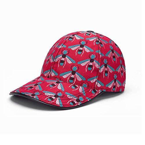 SLH メンズハイエンドビーレッドハット野球帽子レディース春夏屋外サンハット