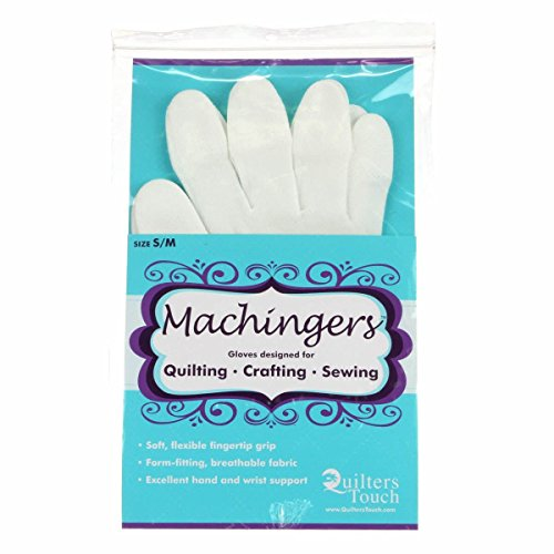 Machingers Quilting Gloves for Free-Motion Sewing ()