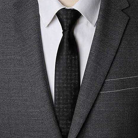 AMWFF Corbata con Cremallera para Hombre, Corbata Moderna, 6 cm ...