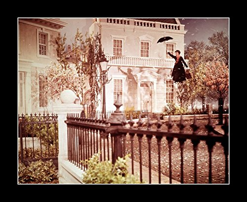8 x 10 All Wood Framed Photo Andrews, Julie Mary Poppins