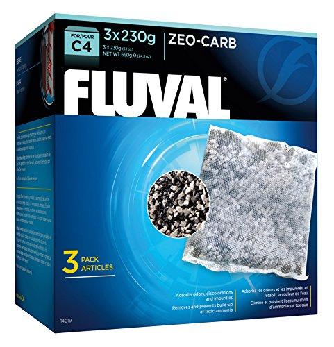 C4 Carbon (Fluval C4 Zeo-Carb - 3-Pack)