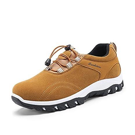 AIMENGA Zapatos para Hombres Otoñ o E Invierno Zapatos para Hombres Zapatos para Caminatas Al Aire Libre para Hombres Zapatos Deportivos Impermeables para Hombres Zapatos para Caminar XHMENG