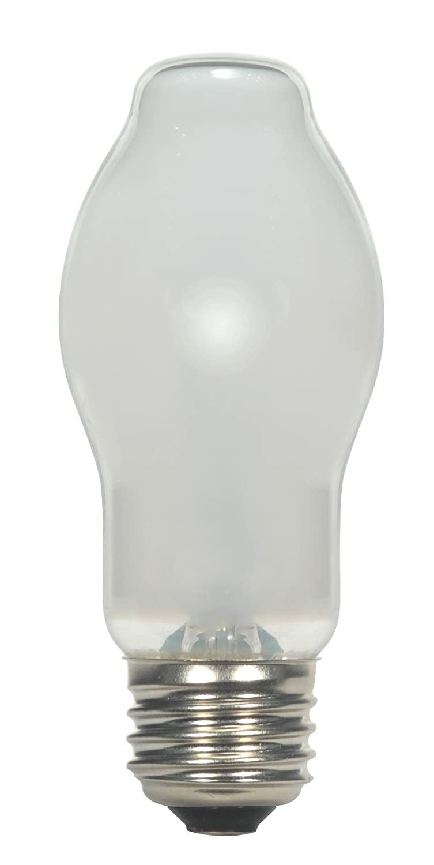 Satco 53BT15 WH 120V E26 CARD Halogen Halogen 53W E26 BT15 White Bulb Pack of 6