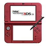 New Nintendo 3dsll Metallic Red