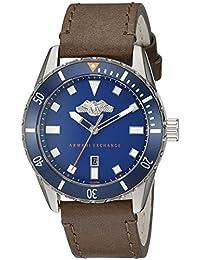 Armani Exchange Men's AX1706 Analog Display Analog Quartz Brown Watch
