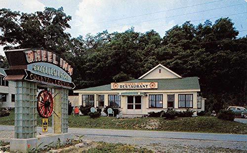 (Hammondsport New York The Wheel Inn Restaurant Vintage Postcard J926644)