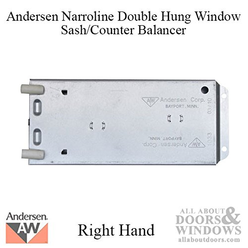 Andersen 200 Series Narroline Window Sash/Counter Balancer, Right Hand - 16R by Andersen Windows