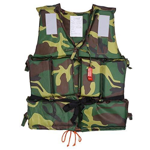 Infant Vest Neo (Naroote Adult Life Jacket Vest Boating Swimming Ski Fishing Drifting Safety Camouflage Buoyancy Aid Polyester Floating Foam Jackets with Whistle)