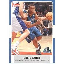 2007 /08 Fleer NBA Basketball Card # 132 Craig Smith Timberwolves Mint Condition