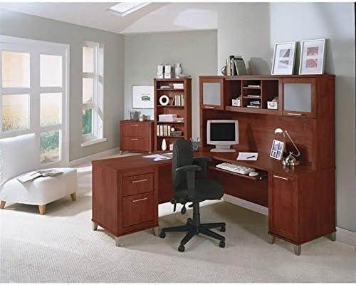 Cheap Bush Furniture Somerset 71″ L Shaped Computer Desk home office desk for sale