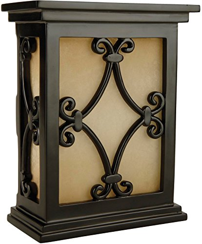 Hand-Carved Scroll Design Chime - Craftmade CH1515-BK