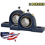 2 Pieces- UCP204-12, 3/4 inch Pillow Block Bearing Solid Base,Self-Alignment, Brand NEW
