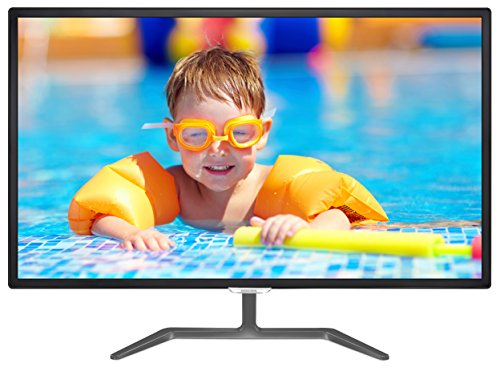Computer Split Monitor (Philips 323E7QDAB 32-Inch Class IPS LED-Lit Monitor,1920x1080 Res, 5ms, 20M:1DCR, VGA,DVI,HDMI,USB, SPK)