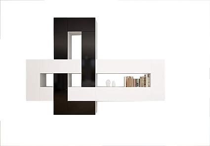 Amazon.com: Brinn Modern Wall Unit/Entertainment Center/Many Price ...