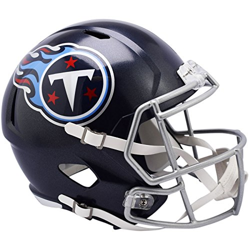 Mini Tennessee Replica Helmet (Riddell Tennessee Titans NEW 2018 Officially Licensed Speed Full Size Replica Football Helmet)