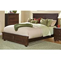 Progressive Furniture Diego King Headboard, 83 x 4 x 52, Espresso Pine