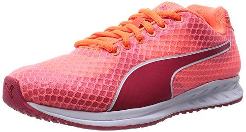 Puma Burst Wn's, Damen Laufschuhe, Orange (fluo peach-rose red 01), 39 EU (6 Damen UK)