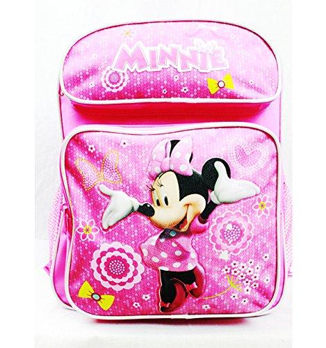 Medium Backpack - Disney - Minnie Mouse Bows & Flowers School Bag MW26781   B011723M5E