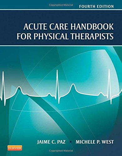 1455728969 - Acute Care Handbook for Physical Therapists, 4e