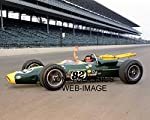 OnlyClassics 1965 Jim Clark INDY 500 Winner 8X10 Photo Indianapolis Speedway Lotus AUTO Racing from OnlyClassics
