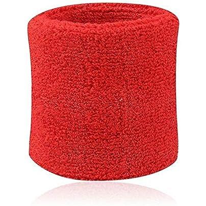 2Pcs Adult Cotton And Fiber Wrist Sweat Band Sports Set Gym Sweatband Fitness Towel Fancy Dress Run Wristband Wrist Guard Suppor Estimated Price £8.29 -