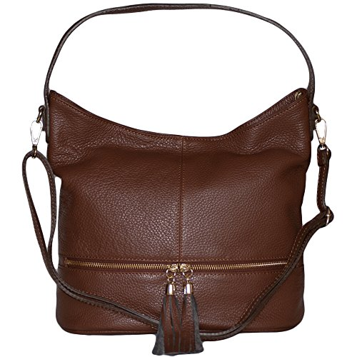 Bag Leather Dazoriginal Bag Hobo Shoulder Womens Large Brown Tote Shopper Handbags wXqpH4fq5