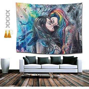 Gothic lesbian art