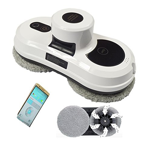 NewRobotWindowCleaning/APPremote controlAutomaticVacuumCleaner/white from Home Garden Tools