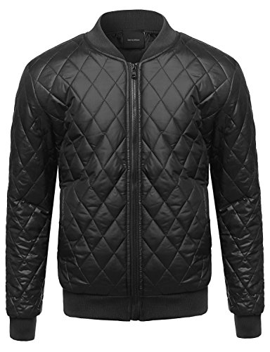 quilted bomber men - 8