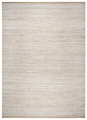(Rizzy Home WYNWY710A00370710 Area Rug, 7' x 10', Ivory/Natural)