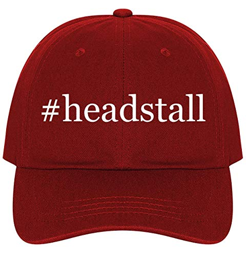 #Headstall - A Nice Comfortable Adjustable Hashtag Dad Hat Cap, Red, One Size