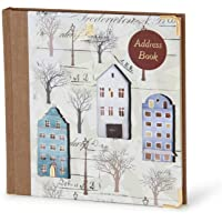 Nightingale Address Book Art Cove A Design, 224 Pages, Executive