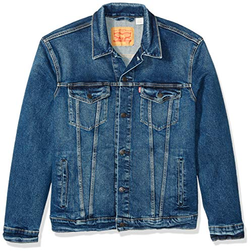 Levi's Men's Big and Tall Big & Tall Trucker Jacket, Colusa/Way Stretch, ()