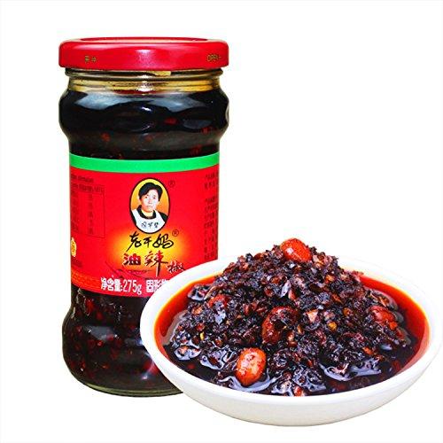 - Laoganma Spicy Chili Crisp/chili garlic sauce(Chili Oil Sauce) - 7.41oz (Pack of 1) lao gan ma hot chili sauce, hot chili oil.