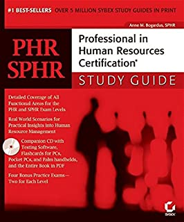 Buy PHR / SPHR Professional in Human Resources Certification Study