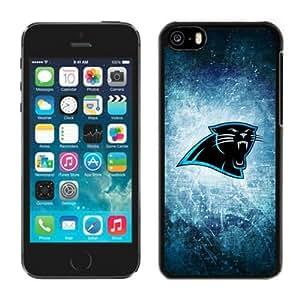 LJF phone case Athletics iphone 5/5s Case NFL Carolina Panthers 07 Cellphone Hard Cases