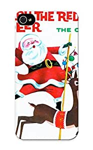 Iphone 5/5s Cover Case Design - Eco-friendly Packaging(holiday Christmas Poster)