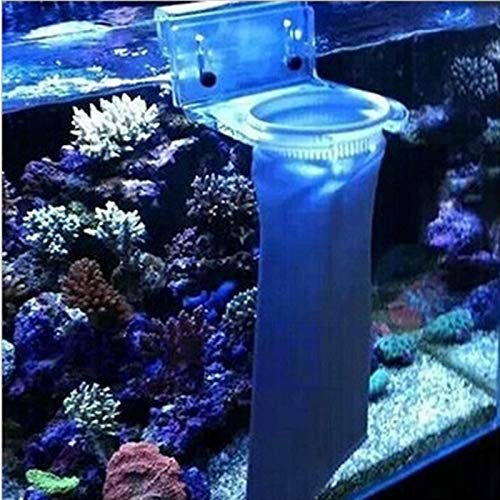 Amazon.com : Aprettysunny 50/100/150/200 Micron Aquarium Fish Tank Marine Sump Felt Pre Filter Sock Bag : Pet Supplies