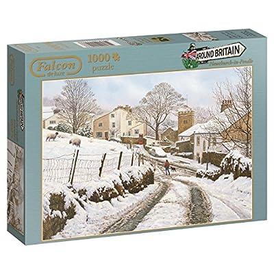 Jumbo 611108 Puzzle Britain Newchurch