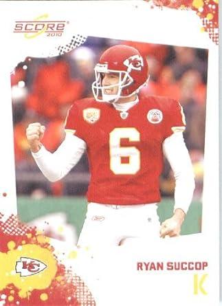 online store 768b3 2387a Ryan Succop - Kansas City Chiefs - 2010 Score Football Card ...