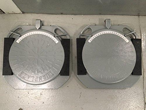 Aluminum Wheel Alignment Turn Plates Turntables/plates/turn/tables/pads/tie Rod Adjustment Set of 2