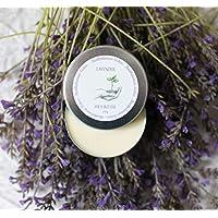 Handmade Lavender Shea Butter Vegan Body Butter, 4 oz