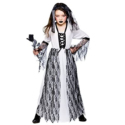 l ghastly ghost bride girls zombies costumes kids living dead halloween trick treat fancy