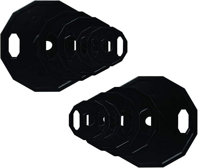 BodyRip Polygonal 2 Olympic Weight Plates 1.25kg-25kg