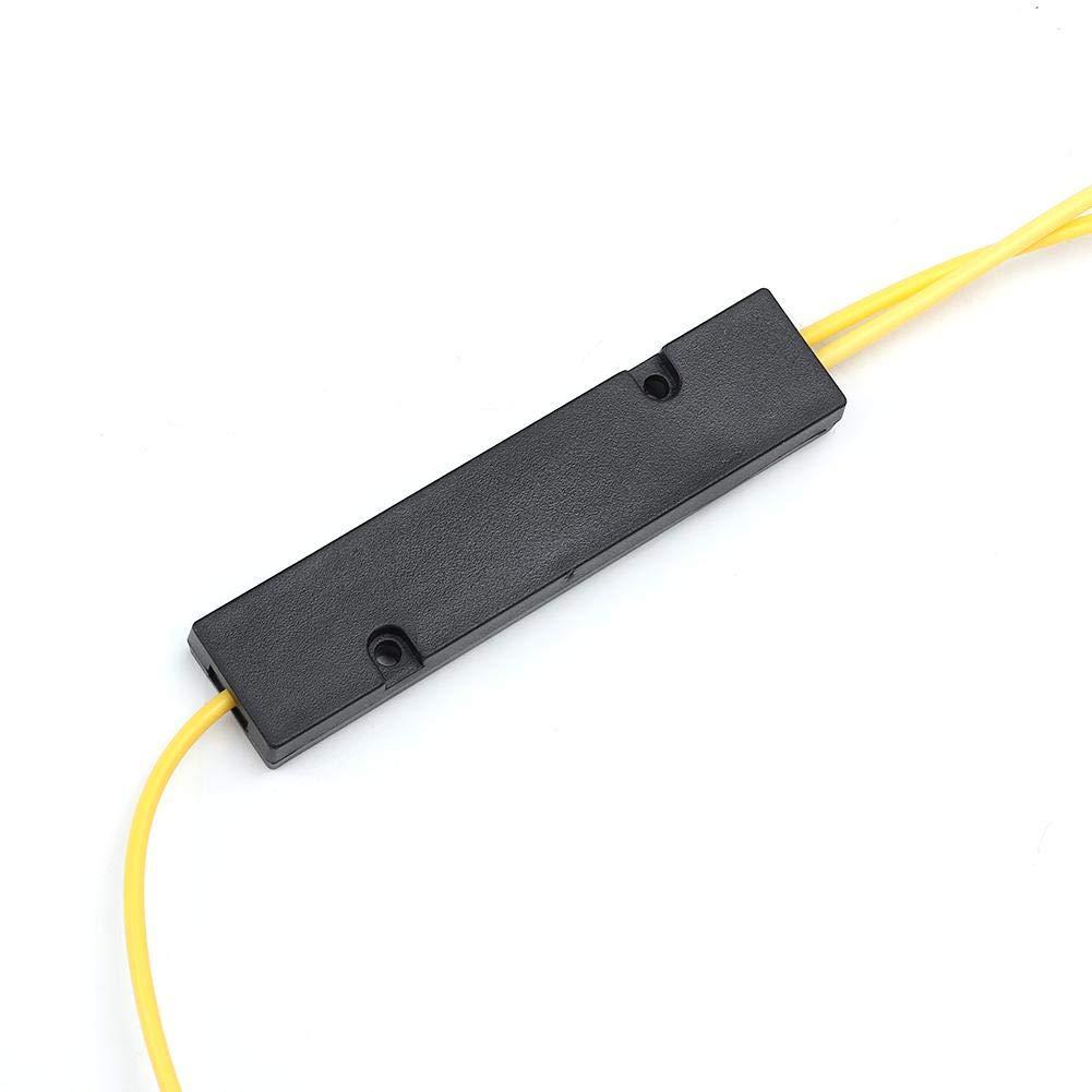 Divisor de fibra /óptica,2 piezas 1x2 P/érdida de inserci/ón del divisor de fibra /óptica 3.8dB.MAX Uniformidad del canal 0.6dB.MAX para sistema de comunicaci/ón de fibra /óptica,LAN /óptica,CATV,FTTH