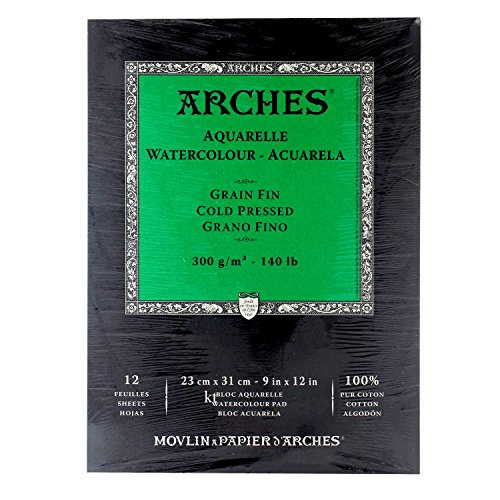Review Arches Cold Press Watercolor