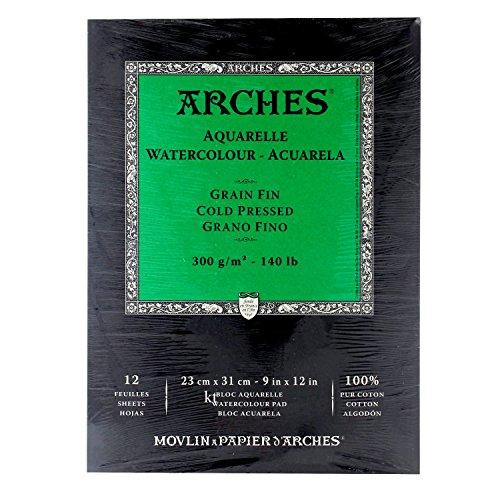 Arches Cold Press Watercolor Pad, 9