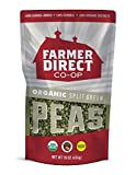 FARMER DIRECT CO-OP, PEAS, OG2, SPLIT GREEN - Pack of 12